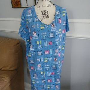 Secret Treasures.blue sleepshirt. 20W-24W